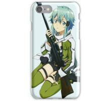 Sinon Sword art online II iPhone Case/Skin