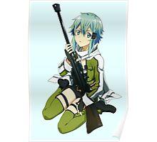 Sinon Sword art online II Poster