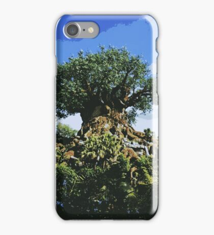 Tree of Life Poster-Style Artwork iPhone Case/Skin