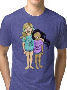 Gracie & Alba - BFFs Tri-blend T-Shirt
