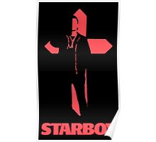 Starboy Cross Poster