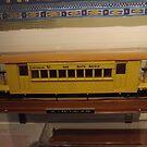 Model 19th Century New York Elevated Train, New York City  by lenspiro
