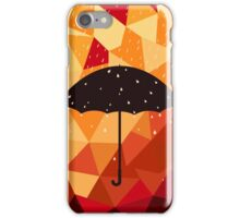 Autumn rain iPhone Case/Skin