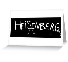 Breaking Bad - Heisenberg Spray Paint Greeting Card