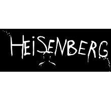 Breaking Bad - Heisenberg Spray Paint Photographic Print
