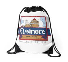 """Elsinore Beer"" - as seen on ""Strange Brew"" Drawstring Bag"