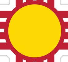Symbol of the Zia Sticker