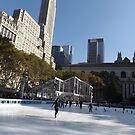 Autumn Skating, New York City by lenspiro