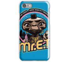 Mr. E.T. - 80s Retro Vintage Mash-Up iPhone Case/Skin
