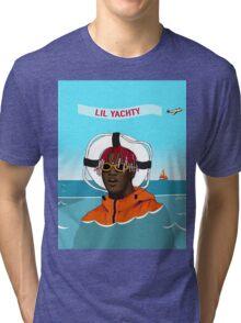 Lil Yachty in ocean Lil Boat Tri-blend T-Shirt