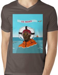 Lil Yachty in ocean Lil Boat Mens V-Neck T-Shirt