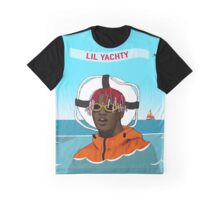 Lil Yachty in ocean Lil Boat Graphic T-Shirt