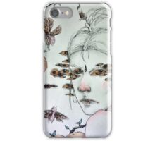 surreal lady iPhone Case/Skin