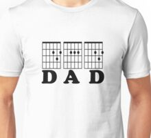 F chord DAD black Unisex T-Shirt