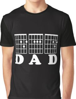 F chord DAD white Graphic T-Shirt
