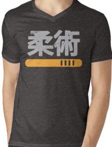 Japanese Kanji Jiu-Jitsu Mens V-Neck T-Shirt