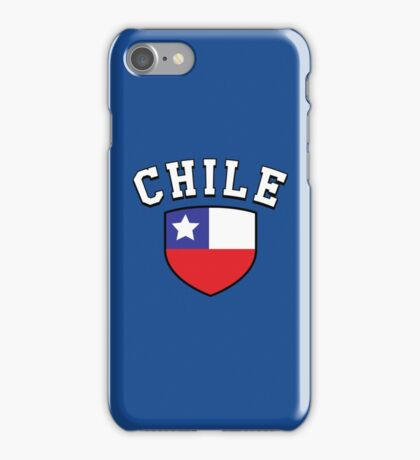 Chile Supporters iPhone Case/Skin