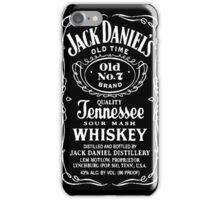 Daniels Jack iPhone Case/Skin