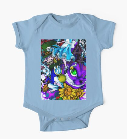 Scary Face 1 One Piece - Short Sleeve