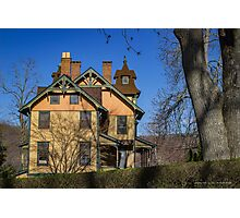 Old House In Main Street Historic District | Cold Spring Harbor, New York Photographic Print