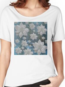 POINSETTIAS Women's Relaxed Fit T-Shirt