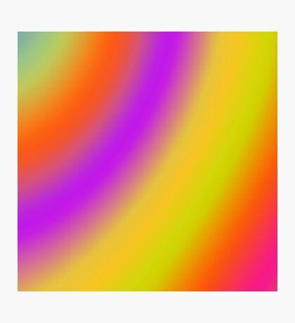 Soft Colour Blend 171116(02) Photographic Print