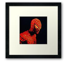Spiderman Painting Framed Print