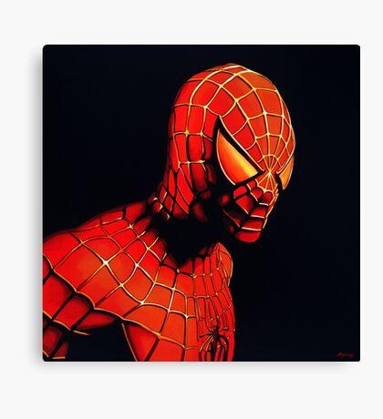 Spiderman Painting Canvas Print