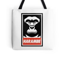 Obey Harambe Shirt Support T-Shirt Tote Bag