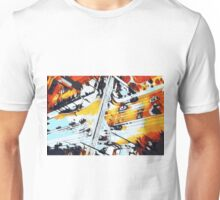 cars on the road in the city  Unisex T-Shirt