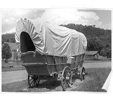 Pennsylvania Wagon Trails Poster