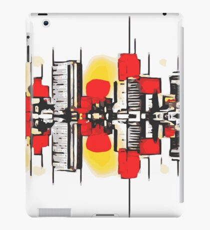 modern buildings  iPad Case/Skin