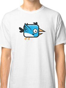 Little Squared Blue Bird Classic T-Shirt