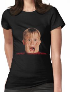 Home Alone Womens Fitted T-Shirt