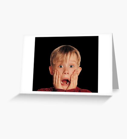 Home Alone Greeting Card