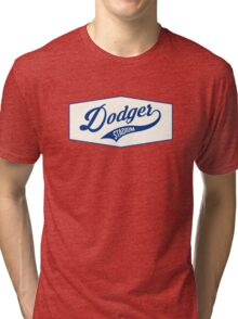 Dodger Stadium Tri-blend T-Shirt