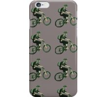 Mountain Biking  iPhone Case/Skin
