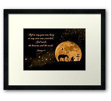 Prayer of a Cowboy Framed Print