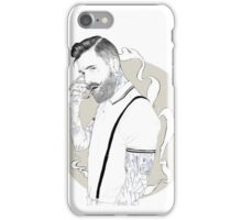 Hipster Man iPhone Case/Skin