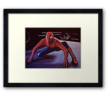 Spiderman Painting 2 Framed Print