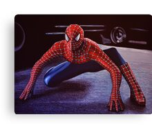 Spiderman Painting 2 Canvas Print