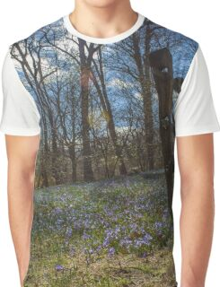 Wooden Fence | Cove Neck, New York  Graphic T-Shirt