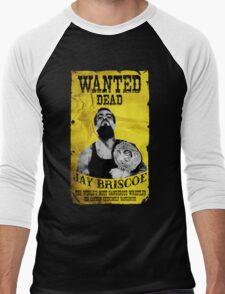 Jay Briscoe - Wanted Dead T-shirt Men's Baseball ¾ T-Shirt