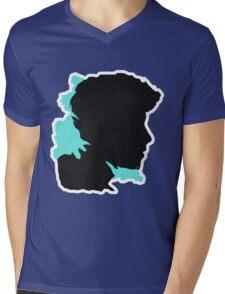 Shawn Silhouette // Nov Mens V-Neck T-Shirt
