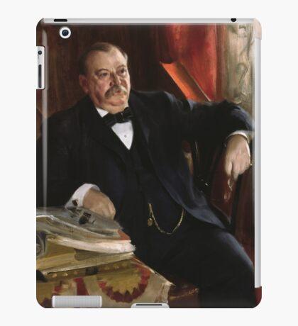 U.S. President Grover Cleveland Portrait iPad Case/Skin