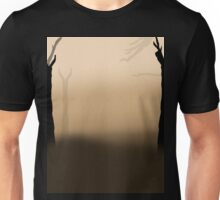 Brown.  Unisex T-Shirt