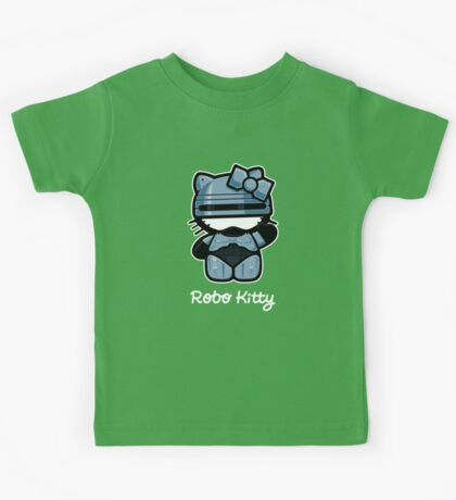 Robo Kitty Kids Tee