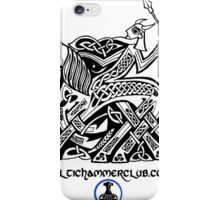 Odin Entering Valhalla on Sleipnir iPhone Case/Skin