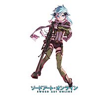 Anime: Sword Art Online II - Sinon Photographic Print