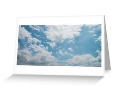Voices in the Clouds Greeting Card